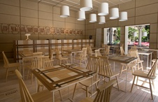 Mobiliario Wine Bar Trapiche Casa FOA 2014 Oropel 30 diseño estratégico