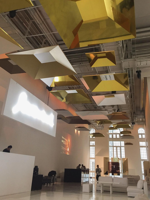 Techo evento Gabrielle Chanel en Faena Art Center.