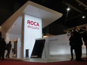 Stand Roca Aequator. Diseño María Eugenia Quiquisola. Ejecución: 30 diseño estratégico