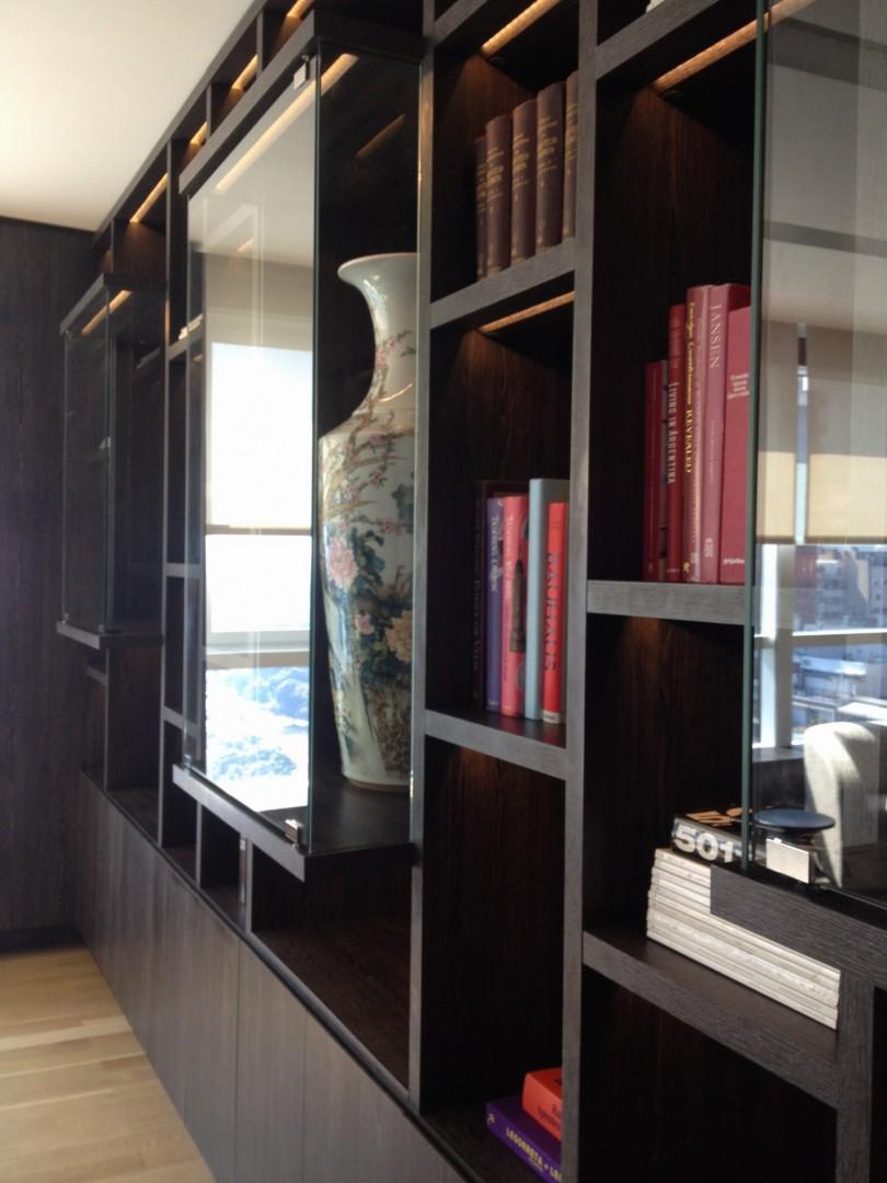 Mobiliario a medida piso Le Park 30 diseño estrategico
