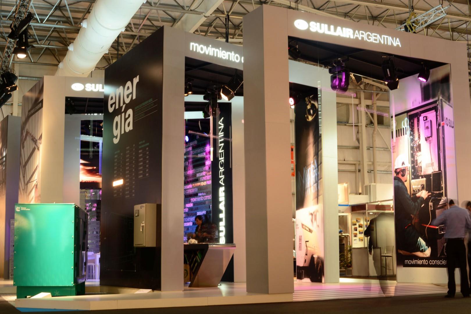 Stand Sullair Exposición Fimaqh 2014 30 diseño estratégico