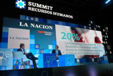 escenografía diario La Nación Summit recursos Humanos 30 diseño estratégico