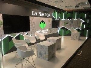 Escenografía La Nacion Real Estate 30 diseño estratégico
