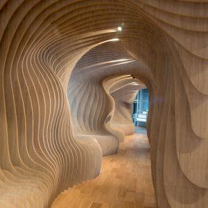 Espacio Paramétrico Patagonia Flooring Design & Art Center