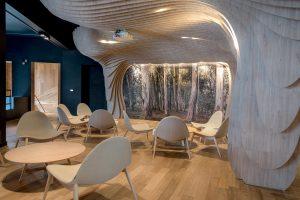 Espacio Patagonia Flooring Center. Diseño Paramétrico.