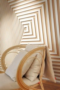 diseño de interiores routeado geometrico