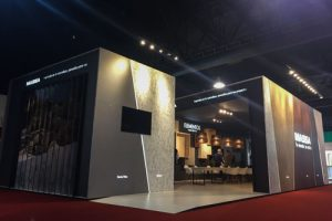 diseño stand masisa fitecma 2017