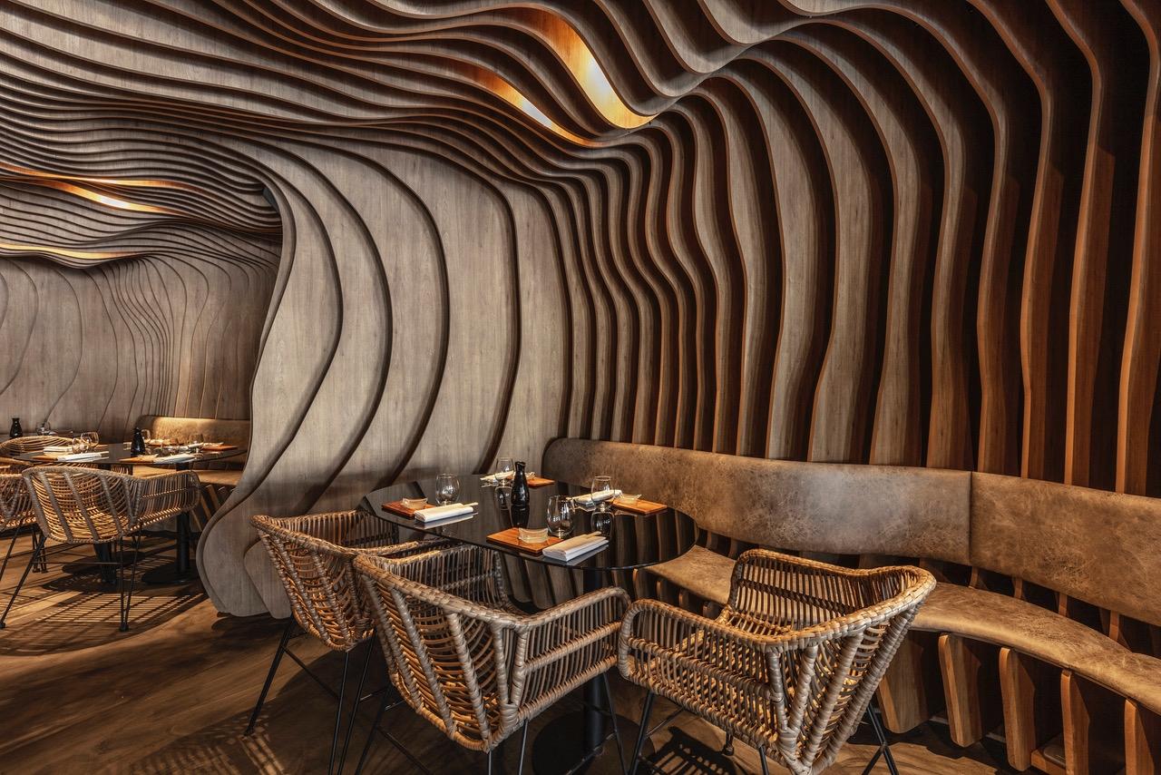 Fabric Sushi Puerto Madero Revestimiento organico 30 diseño estratégico