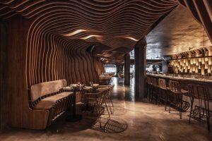 Fabric Sushi Puerto Madero Revestimiento parametrico